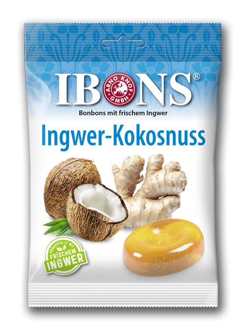Sorte IBONS® Ingwer Kokosnuss